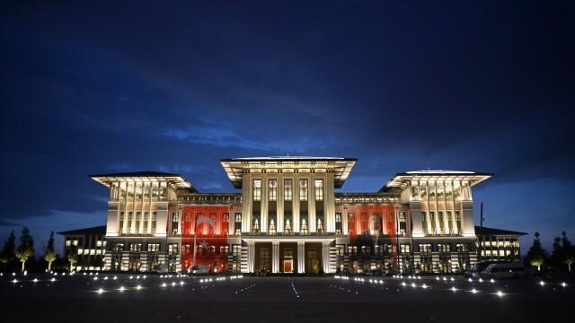 Turcia are unul dintre cele mai impunatoare palate prezidentiale din lume. A costat aproape 350 de milioane de dolari. FOTO - Imaginea 3