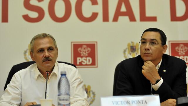 Liviu Dragnea, Victor Ponta - AGERPRES