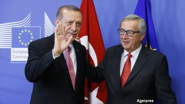 Erdogan si Juncker