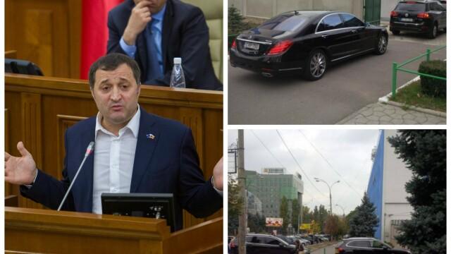 Vlad Filat - masini