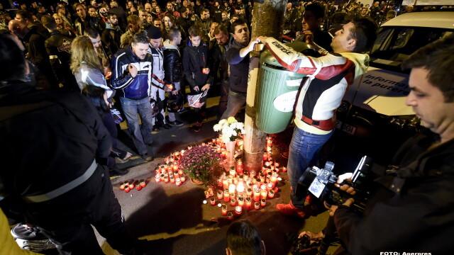 Aproximativ 500 de motociclisti s-au adunat intr-un mars al tacerii, in memoria politistului mort. Oamenii vor raspunsuri - Imaginea 2