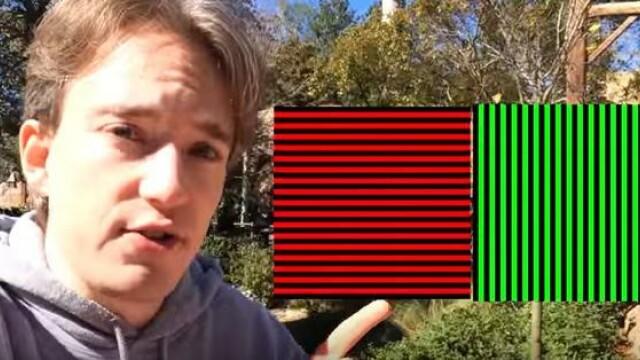 VIDEO Cea mai puternica iluzie optica - efectul McCollough