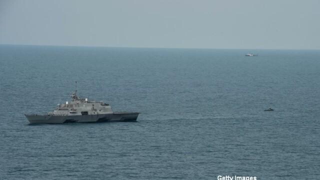 SUA sfideaza Beijingul. O nava de razboi americana s-a apropiat de insulele artificiale construite in Marea Chinei de Sud