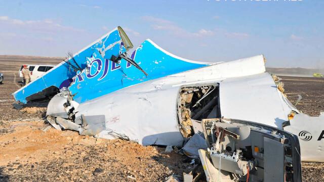 Avionul rusesc prabusit in Sinai. Anchetatorii, siguri \