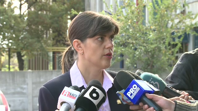 Laura Codruta Kovesi acuza persoanele cercetate ca ii hartuiesc pe procurorii DNA. \