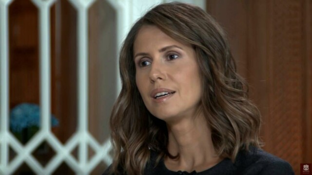 Asma al-Assad, primul interviu acordat unei publicatii straine de la inceputul razboiului civil in Siria: \