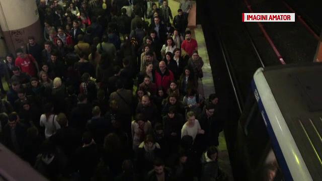 Dupa incidentele din ultima perioada, provocate de aglomeratia excesiva, Metrorex introduce trenuri suplimentare