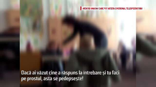 Copii batuti si injurati de educatoare, la o gradinita din Vrancea. \