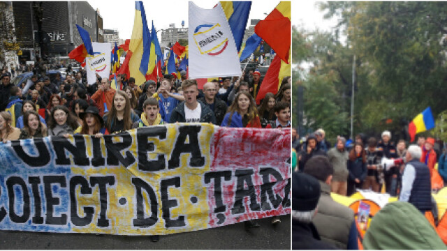 Unionistii au plecat din Piata Universitatii, dupa o noapte