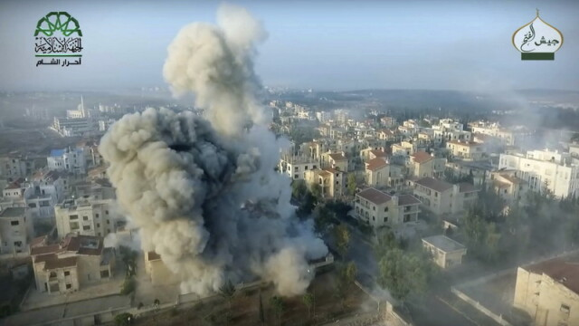 The Times: Putin va lansa saptamana asta un atac de amploare asupra orasului Alep in timp ce America e ocupata cu alegerile
