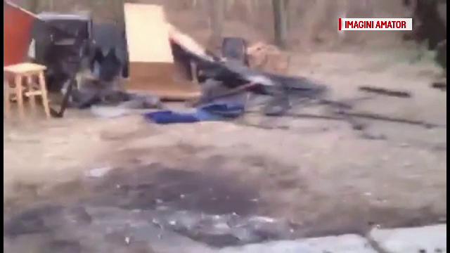 Un tânăr din OLT și-a incendiat casa, după ce s-a certat cu părinții