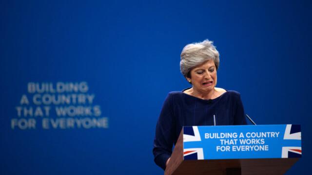 Theresa May la Congresul Conservator