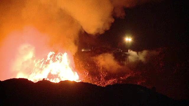 incendiu groapa de gunoi cluj pata rat