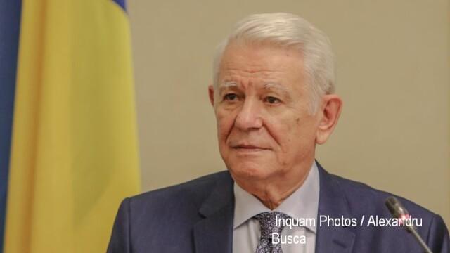 Teodor Meleşcanu participă azi la reuniunea Consiliului Afaceri Externe de la Bruxelles
