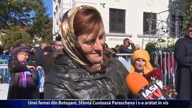 Unei femei din Botoşani, Sfânta Cuvioasă Parascheva i s-a arătat în vis. VIDEO