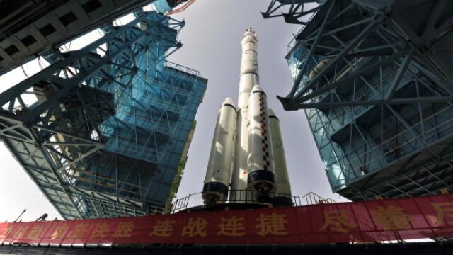China a pierdut controlul stației spațiale Tiangong-1. Nu se știe unde va cădea colosul de 8,5 tone