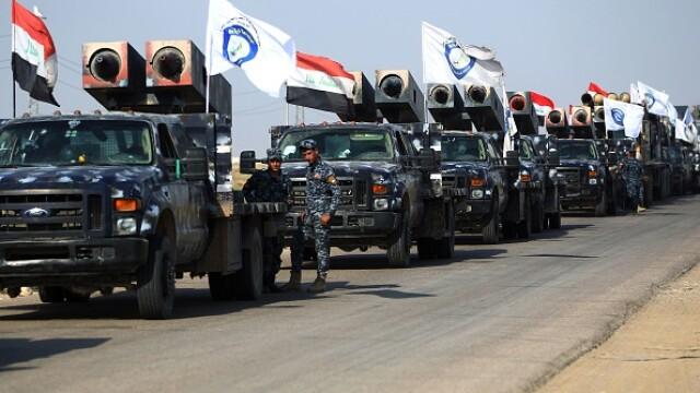 Doi aliați antrenați de americani duc lupte grele pentru petrolul din Kirkuk