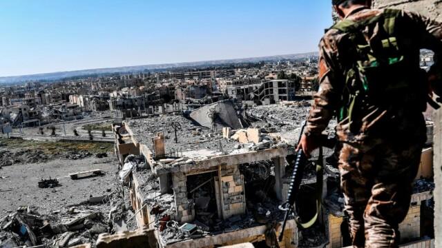 luptator SDF in RAqqa