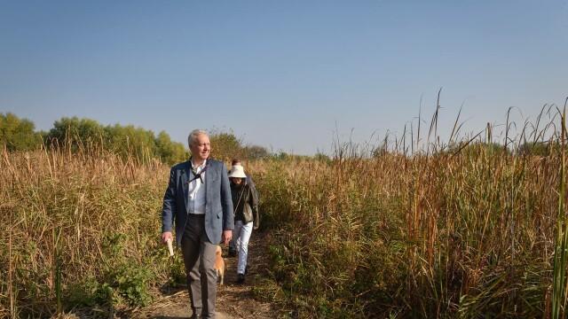 Hans Klemm, în vizită la Parcul Natural Văcărești: E un refugiu în mijlocul naturii