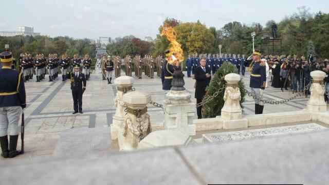 Ceremonia militară cu ocazia Zilei Armatei Române