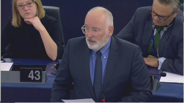 Frans Timmermans, Parlamentul European