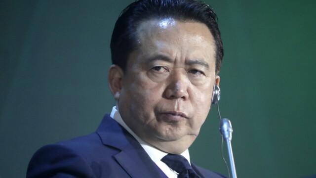 Şeful Interpol dat dispărut de către soţie ar fi fost reținut în China