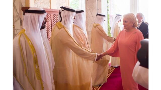 Premierul Dăncilă s-a întâlnit cu prim-ministrul Emiratelor Arabe Unite. VIDEO
