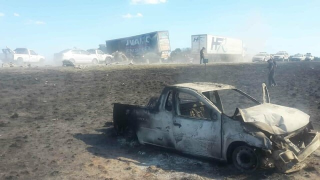 Accident cu cel puţin 20 de morţi, din cauza unui camion care a ajuns pe contrasens