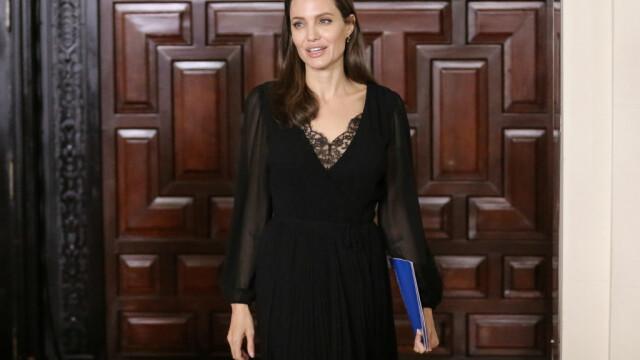 Angelina Jolie, vizita in Peru: \