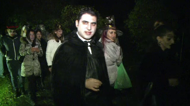 Cât costă un bilet la petrecerea de Halloween de la Castelul Bran
