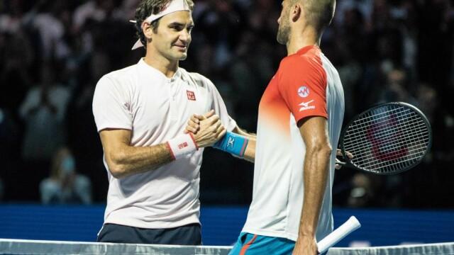 Marius Copil - Roger Federer