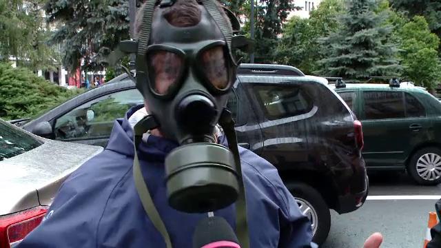 Brașovenii au ieșit în stradă, disperați din cauza mirosului produs de groapa de gunoi