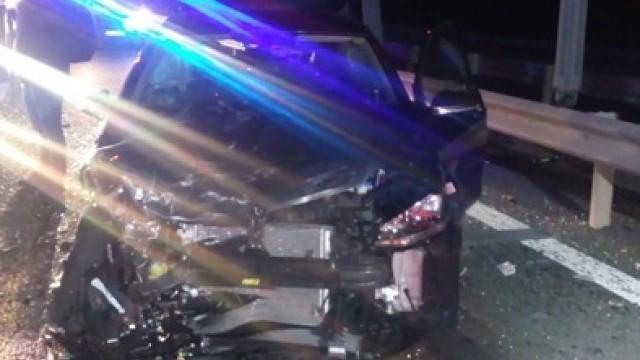 Accident în lanț pe A1, cu 14 persoane implicate. Care a fost cauza dezastrului