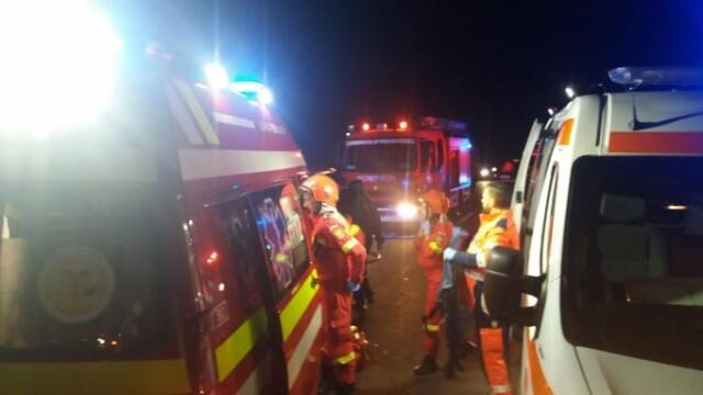 Impact teribil în Sibiu: doi tineri de 23 de ani au murit, alți doi sunt la spital - Imaginea 2