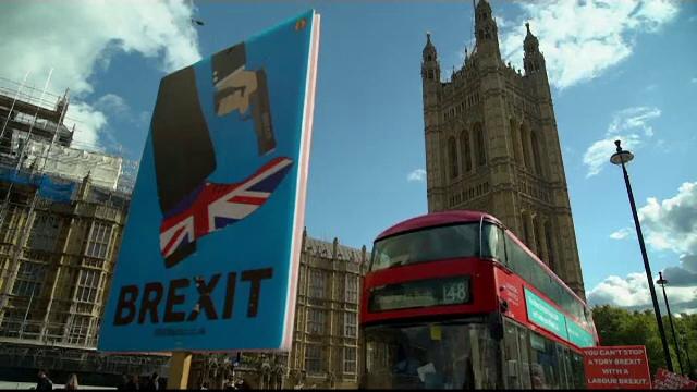 Manifestație masivă în Londra. Votul asupra acordului de retragere a fost amânat - Imaginea 1