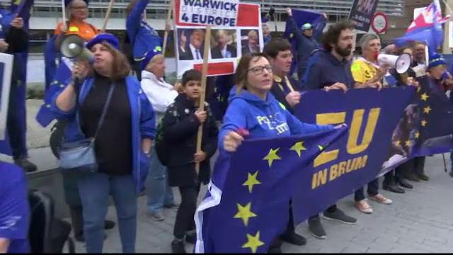Manifestație masivă în Londra. Votul asupra acordului de retragere a fost amânat - Imaginea 3