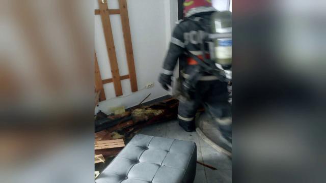 Incendiu puternic la o sală de sport din Timișoara. De la ce a izbucnit focul - Imaginea 1