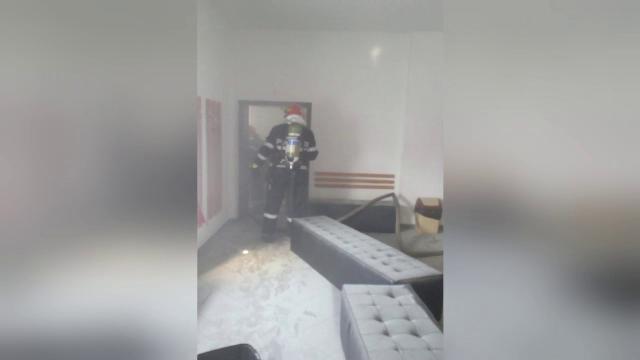 Incendiu puternic la o sală de sport din Timișoara. De la ce a izbucnit focul - Imaginea 2