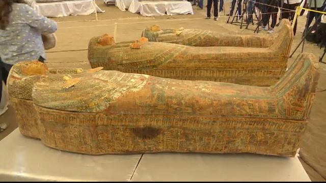 Descoperire fascinantă în Egipt: 30 de sarcofage cu o vechime de peste 2000 de ani - Imaginea 2