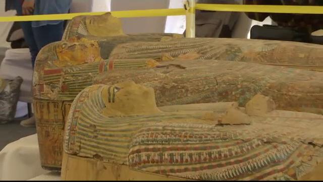 Descoperire fascinantă în Egipt: 30 de sarcofage cu o vechime de peste 2000 de ani - Imaginea 3