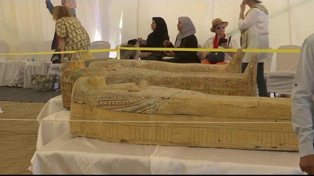 Descoperire fascinantă în Egipt: 30 de sarcofage cu o vechime de peste 2000 de ani - Imaginea 4