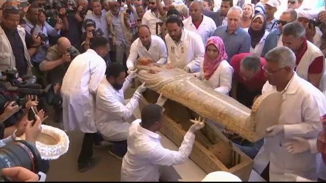 Descoperire fascinantă în Egipt: 30 de sarcofage cu o vechime de peste 2000 de ani - Imaginea 5