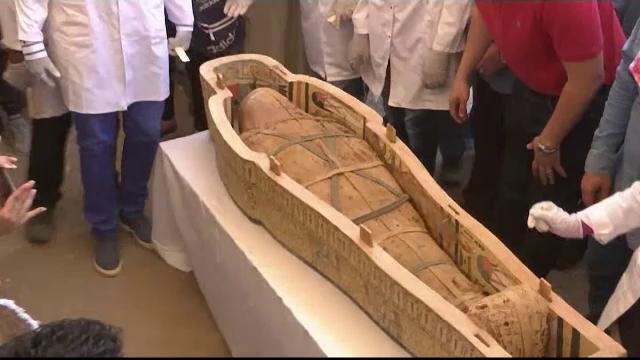 Descoperire fascinantă în Egipt: 30 de sarcofage cu o vechime de peste 2000 de ani - Imaginea 6