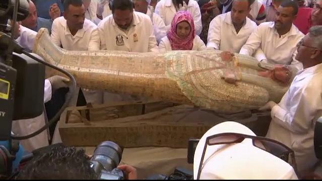 Descoperire fascinantă în Egipt: 30 de sarcofage cu o vechime de peste 2000 de ani - Imaginea 7