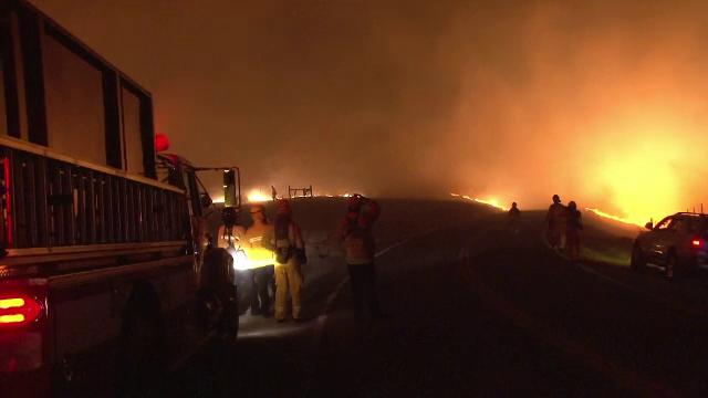 Imagini apocaliptice în California. Incendiile de vegetație au mistuit totul în cale - Imaginea 5