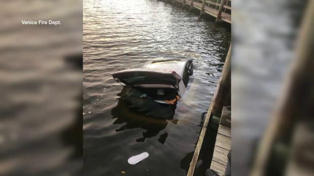 masina in lac