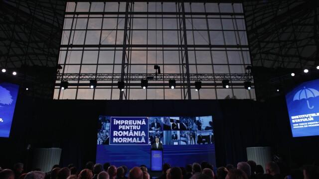 Klaus Iohannis şi-a prezentat public programul prezidenţial