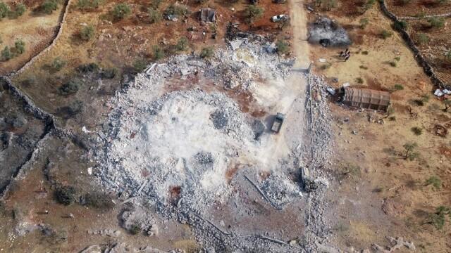 Casa liderului ISIS, distrusa de trupele americane - 4