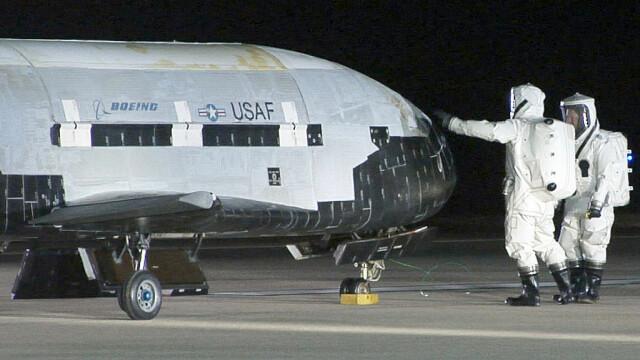 Avion spațial misterios, la finalul unei misiuni secrete. Ce record a doborât - Imaginea 2