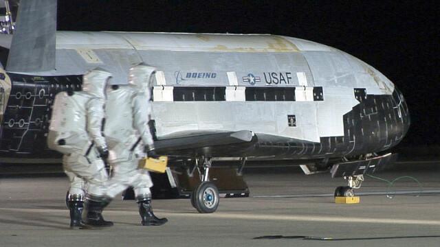 Avion spațial misterios, la finalul unei misiuni secrete. Ce record a doborât - Imaginea 6